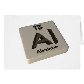 Al Aluminium Cards