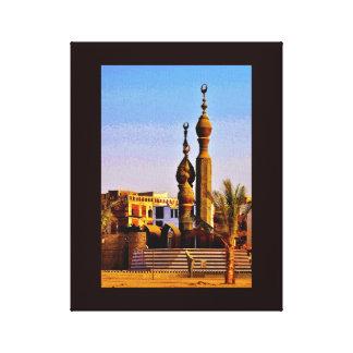 Al Balad Mosque Canvas Print