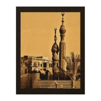 Al Balad Mosque Wood Print