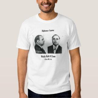 Al Capone Mafia Hall Of Fame Shirts