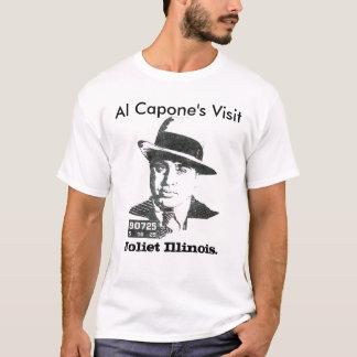 Al Capone's Visit, Joliet Illinois. T-Shirt