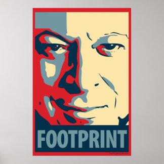 Al Gore - Footprint: OHP Poster