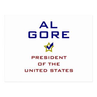 Al Gore President USA V2 Post Card
