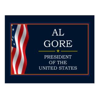 Al Gore President V3 Post Card
