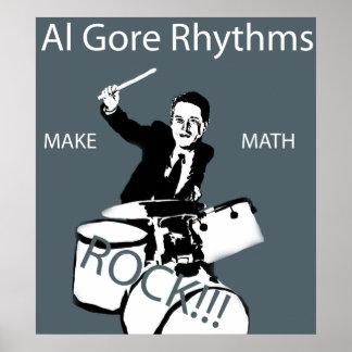 Al Gore Rhythms Poster