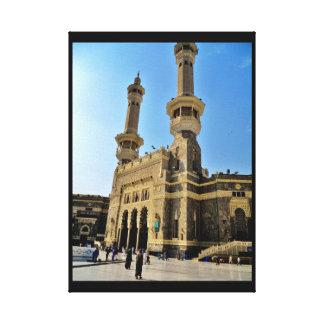 Al Haram Mosque Canvas Print