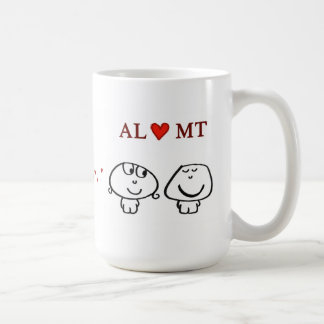 """AL heart MT"" Coffee Mug"