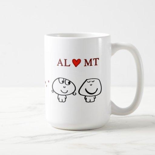 """""""AL heart MT"""" Mug"""