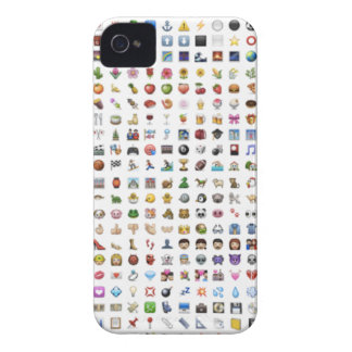 Al iPhone/iOS emojis iPhone 4 Case-Mate Case