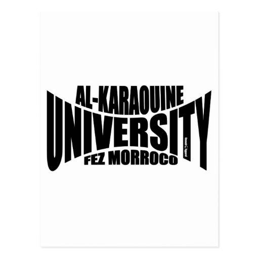 Al Karaouine University Postcards