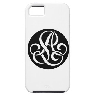 AL-LA-Monogram iPhone 5 Covers