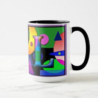 """""""AL"""" monogram coffee mug 15 oz"""