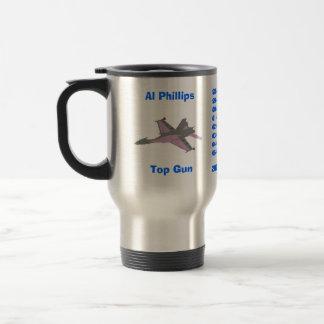 Al Phillips,    Top Gun,      2007 Avg. Leader,... Travel Mug