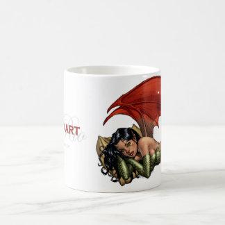 Al Rio Art Devil Girl (taking a nap) Coffee Mugs