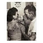 Al Shieferly tattoos Rose Postcards