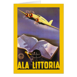 Ala Littoria Greeting Card