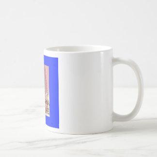 "Alabama ""4 Life"" Digital State Map Painting Coffee Mug"
