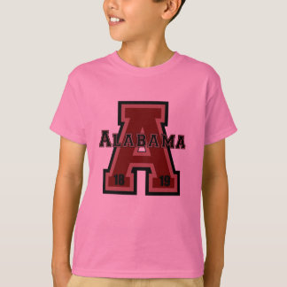 Alabama 'A' Red T-Shirt