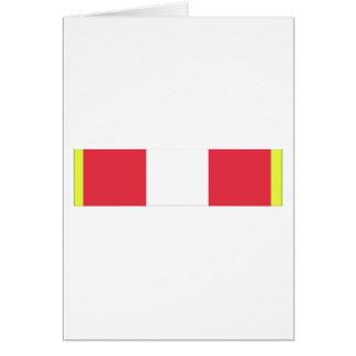 Alabama Active Duty Basic Training Ribbon Greeting Card