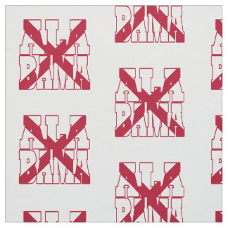 Alabama American state flag Fabric