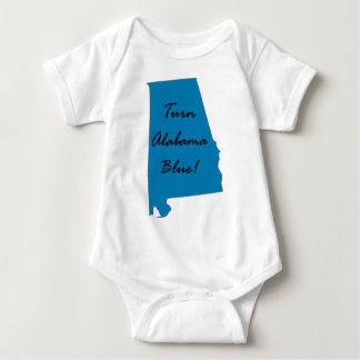 alabama baby bodysuit