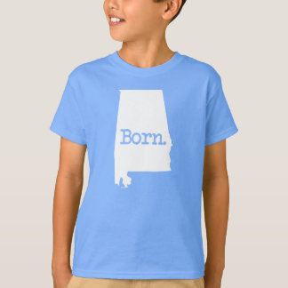 Alabama Born AL T-Shirt