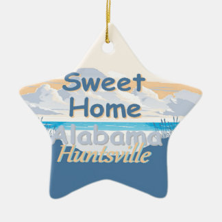 ALABAMA CERAMIC ORNAMENT