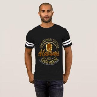 Alabama Country Music Fan Men's Football T-Shirt
