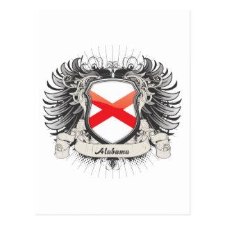 Alabama Crest Postcard