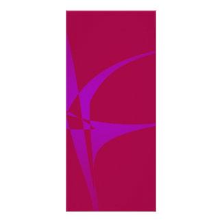Alabama Crimson Simple Abstract Minimalism Personalized Rack Card