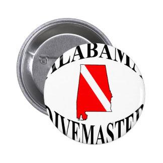 Alabama Divemaster Pin