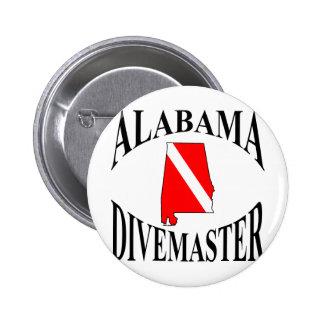 Alabama Divemaster Pinback Button