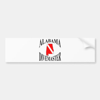 Alabama Divemaster Bumper Sticker