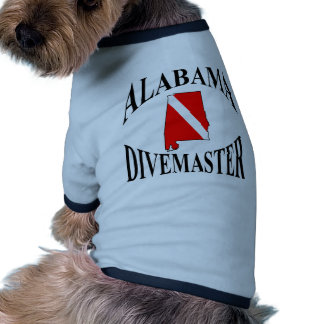 Alabama Divemaster Doggie Tee Shirt