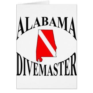 Alabama Divemaster Greeting Card