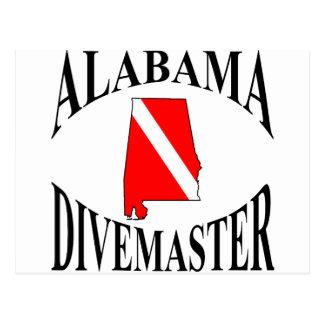 Alabama Divemaster Postcard