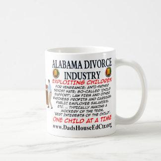 Alabama Divorce Industry. Basic White Mug