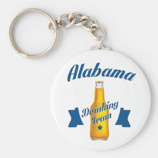 Alabama Drinking team Key Ring