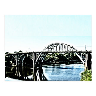 Alabama Edmund Pettus Bridge Postcard