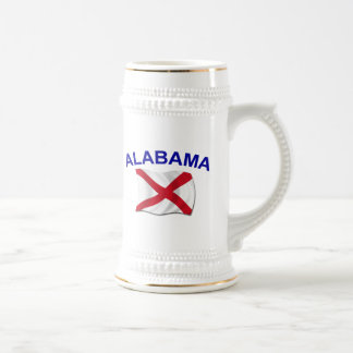 Alabama Flag 1 Mugs