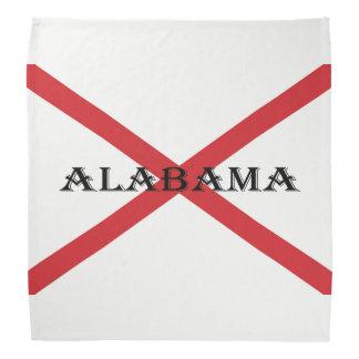 Alabama Flag and Banner Bandana