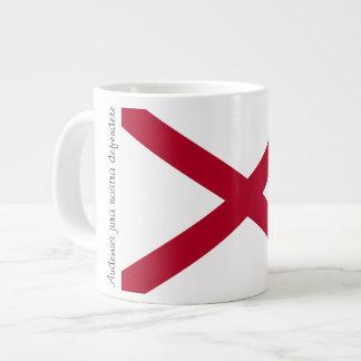 Alabama Flag and Motto Mug Jumbo Mug