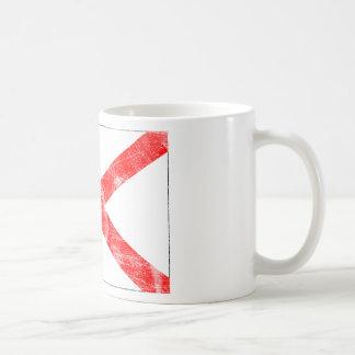 Alabama Flag (Distressed) Basic White Mug