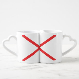 ALABAMA Flag Lovers Mug Set