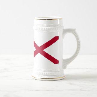 Alabama Flag Beer Steins