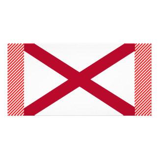 Alabama Flag Custom Photo Card
