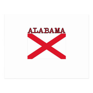 Alabama Flag Postcard