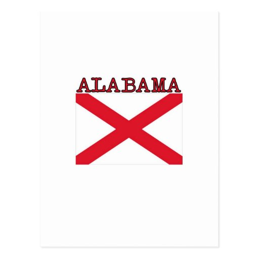 Alabama Flag Post Cards