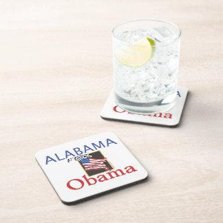 Alabama for Obama Election Coasters