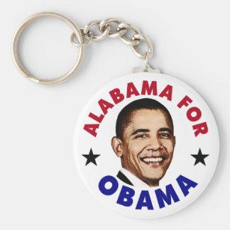 Alabama For Obama Keychains